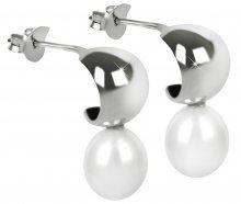 JwL Luxury Pearls Stylové náušnice s perlou JL0335