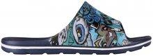 Coqui Dětské pantofle Long Printed Navy 6375-224-2100 28-29