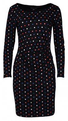 Smashed Lemon Dámské šaty Black/Multi Color 18697 XS