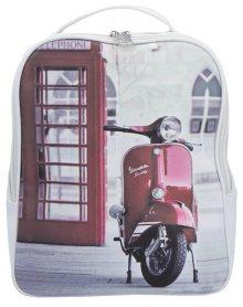 INDEE dámský batoh 9302-02 vícebarevný