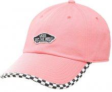 VANS Dámská kšiltovka Check It Hat Strawberry Pink Checkrbrd VN0A3UQDUV71