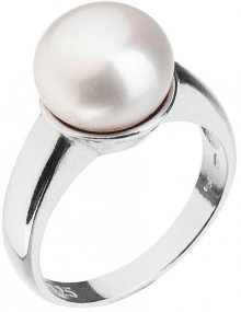 Evolution Group Stříbrný perlový prsten Pavona 25001.1 54 mm