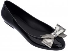 Melissa černé baleríny Doll III Black/Silver - 35/36