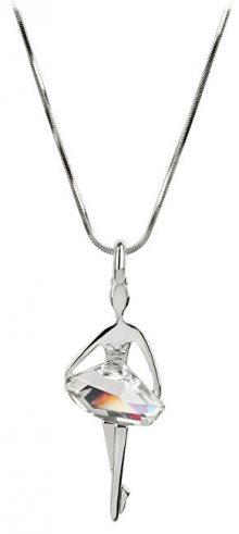 Levien Originální náhrdelník Baletka Silver Shade 018
