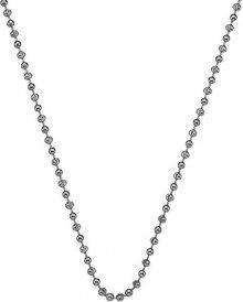 Hot Diamonds Stříbrný řetízek Emozioni Rhod Plated Bead Chain 30 CH017