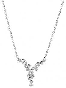 Silver Cat Oslnivý náhrdelník se zirkony SC280