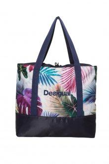 Desigual barevná sportovní taška Shopping Bag Bio Patching