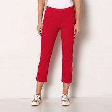 Blancheporte Strečové 3/4 kalhoty červená 36