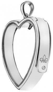 Hot Diamonds Přívěsek na elementy Anais Srdce EX009