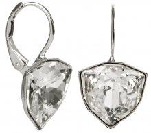 Troli Náušnice Trilliant Crystal