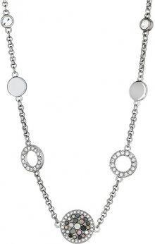 Fossil Ocelový náhrdelník s perletí JF02312040