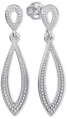Brilio Silver Stříbrné náušnice s krystaly 431 001 02734 04 - 1,99 g