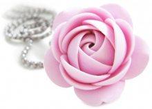 Troli Růžový náhrdelník kytička