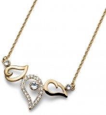 Oliver Weber Pozlacený náhrdelník Working Travel 11676G