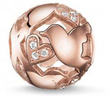 Thomas Sabo Bronzový zamilovaný korálek K0132-416-14