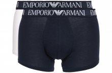 Boxerky 2 ks Emporio Armani | Modrá Bílá | Pánské | L