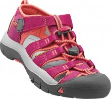 KEEN Dětské sandály Newport H2 Very Berry/Fusion Coral JUNIOR 35