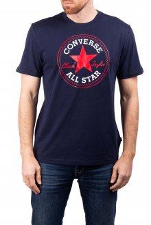 Converse tmavě modré pánské tričko Chuck Patch s logem - S