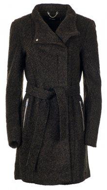 Vero Moda Dámský kabát Two Dope Loop Aw18 3/4 Jacket Boos Peat Silver XS