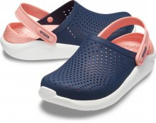 Crocs modré boty Literide Clog Navy/Melon - W9