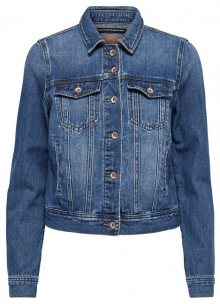 ONLY Dámská bunda Justice Dnm Jacket Bj Bb Dark Blue Denim 34