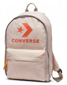 Converse krémový batoh EDC s oranžovými detaily