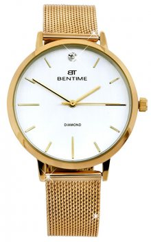 Bentime Dámské hodinky s diamantem 044-9MB-PT11894N