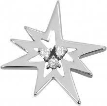 Brilio Silver Stříbrný přívěsek Hvězda s krystaly 446 001 00372 14 - 1,66 g