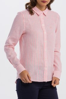 KOŠILE GANT THE LINEN CHAMBRAY STRIPE SHIRT