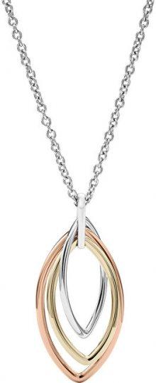 Fossil Tricolor náhrdelník pro ženy JF02779998