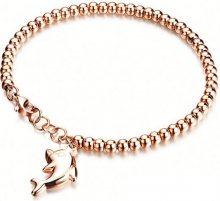 Troli Bronzový náramek Delfín 683