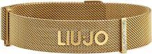 Liu.Jo Pozlacený ocelový náramek LJ1050