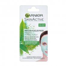 Garnier Čisticí maska s čajem Matcha a s kaolínem pro mastnou a smíšenou pleť Skin Active (Purifying Mask) 8 ml
