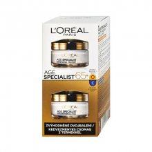 L\'Oréal Paris Age Specialist 65+ sada denního a nočního krému 2 x 50 ml dárková sada
