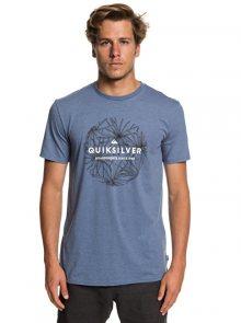 Quiksilver Pánské triko Classic Bob Ss Bijou Blue Heather EQYZT05278-BNGH M