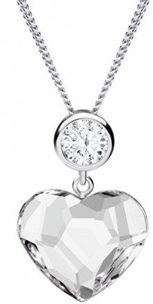 Preciosa Náhrdelník Amy s čirými krystaly 6100 00