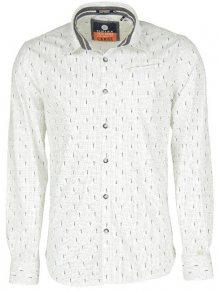 Noize Pánská košile White 4346106-00 M