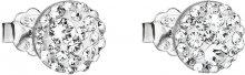 Evolution Group Náušnice s čirými krystaly 31136.1