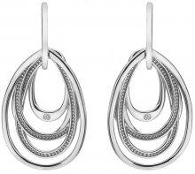 Hot Diamonds Stříbrné náušnice s diamanty Chandelier Vintage Drop DE496