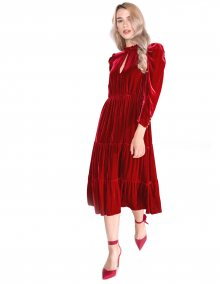 Imbuto Šaty Pinko   Červená   Dámské   42