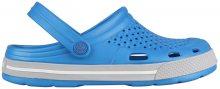 Coqui Pánské pantofle Lindo Sea Blue/Khaki Grey 6403-100-4746 41