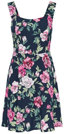 Jacqueline de Yong Dámské šaty Star Strap Dress Wvn Navy Blazer 34