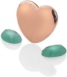 Hot Diamonds Element srdce se smaragdy Anais Květen EX136
