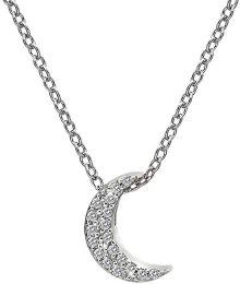 Hot Diamonds Stříbrný náhrdelník s půlměsícem Micro Bliss DP698
