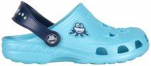 Coqui Dětské pantofle Little Frog 8701 Blue/Navy 8701-100-1821 23-24