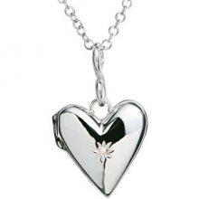 Hot Diamonds Zamilovaný náhrdelník s diamantem Just Add Love DP142 (řetízek, přívěsek)