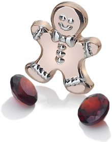 Hot Diamonds Bronzový element perníček s granáty Anais AC107
