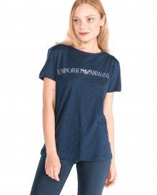 Triko na spaní Emporio Armani | Modrá | Dámské | L