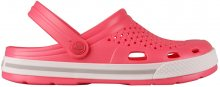 Coqui Dámské pantofle Lindo New Rouge/Khaki Grey 6413-100-4246 36