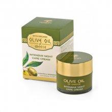 BioFresh Noční výživný krém s olivovým olejem pro normální až suchou pleť Olive Oil Of Greece (Intensive Night Care Cream) 50 ml